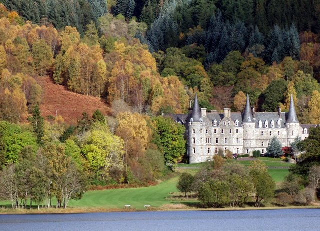 Scottish virtual tour loch achray hotel.